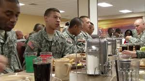 fort dining facility is largest in the army