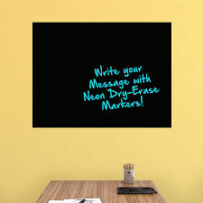 large black dry erase board wall decal shop fathead for dry large black dry erase board fathead wall decal