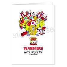 fireman clowns birthday card stonehouse collection
