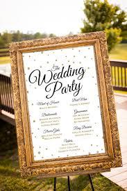 Black Gold Wedding Decorations Printable Wedding Party Sign Gold Wedding Decor Black U0026 Gold