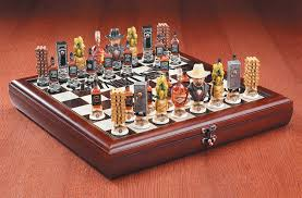 amazon com jack daniel u0027s wooden chess set includes board and
