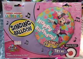 singing balloon sing a tune 28 inch minnie mouse balloon from category character