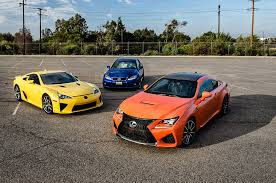 lexus rcf carbon for sale exclusive photos 2015 lexus rc f poses with lfa is f sc 400