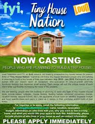 tiny house nation now casting for season three on the green