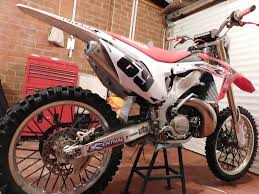 honda cr 250 03 very clean bike 2014 tx race conversion 2 stroke