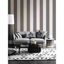 wallpops 6 5 in x 288 in charcoal peel and stick stripe wall charcoal peel and stick stripe wall decal tnu1576 the home depot