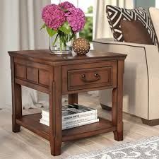 Storage End Table Darby Home Co Mathis End Table With Storage U0026 Reviews Wayfair