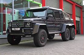six wheel mercedes suv black mercedes g63 amg 6x6 for sale gtspirit