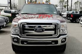 f250 led light bar single row led light bar for 2011 16 ford f250 install guide