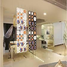 Diy Hanging Room Divider 4pcs Black Plastic Diy Wall Photo Frames Hanging Screen Panel