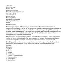 new graduate cover letter example academic cover letter images cover letter ideas