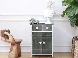 Comodini Ikea Malm by Comodino Shabby Chic Ideale Per I Piccoli Spazi In Legno Di