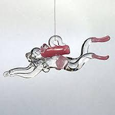ornament central oc 124 f scuba diver figurine