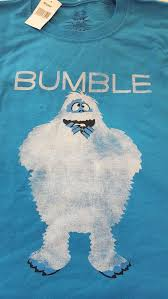 rudolph red nosed reindeer bumble abominable snowman shirt