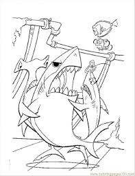 56 nemo coloring pages images finding nemo