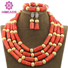 coral bead necklace images 2018 coral bead sets jewelry latest design nigerian beads necklace jpg