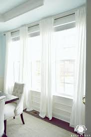Ikea Muslin Curtains Best 25 White Linen Curtains Ideas On White Curtains