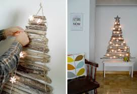 stick christmas tree with lights 60 cool alternative christmas tree ideas cool crafts