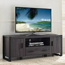 60 inch charcoal grey tv stand overstock shopping great deals