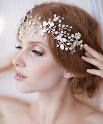 hair ornaments bridal party hair accessories headbands for bridesmaids and