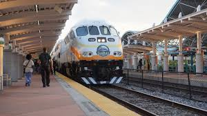 Commuter Rail by Train Action In Orlando Sunrail Commuter Rail Youtube