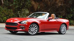 fiat spider 2016 2017 fiat 124 spider to bring out the best