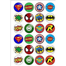 marvel cake toppers marvel superheroes characters city edible wafer paper cake