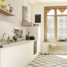 cuisine bois clair cuisine blanche et bois avec cuisine design blanche cheap trendy