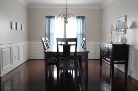 Our Home From Scratch - Dining room with wainscoting