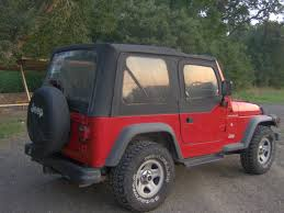 red jeep jeepclassifieds com 97 red jeep wrangler