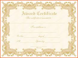 award templates bio letter sample