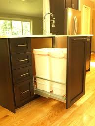 under sink trash pull out kitchen pull out trash can jealous kitchen trash pull out