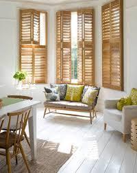 shutters bay window dressing home decor ideas pinterest