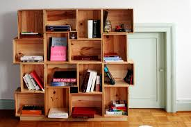 Box Shelves Wall by Building A Bookcase Cube By Cube Roselawnlutheran