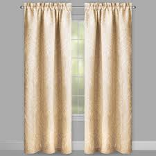 solstice paisley room darkening window curtains set of 2
