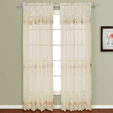 Marburn Curtain Stores Marianna Embroidered Panel W Attached Valance U2013 Marburn Curtains