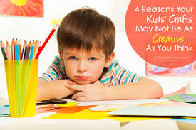 4 reasons your kids u0027 crafts may not be as creative as you think