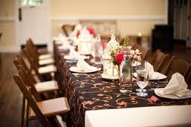 brown wedding reception decorations wedding decorations