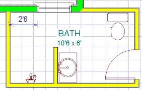 Small Bathroom Floor Plans 5 X 8 9 X 13 Bathroom Designs 9 Free Printable Images House Plans