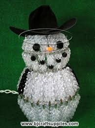 cowboy decorations ideas safety pin snowman cowboy