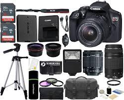 amazon com canon eos rebel t6 18mp wi fi dslr camera with 18 55mm