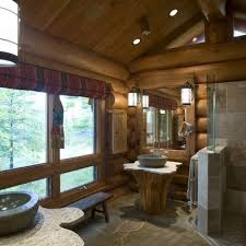 Rustic Cabin Bathroom - log cabin bathroom decor u0026 diy for the home pinterest log cabin