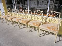 chinese chippendale chairs 6 faux bamboo chippendale chairs circa who