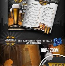 Sports Bar Menu Templates 28 drink menu templates free sle exle format