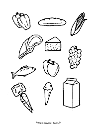 food groups free coloring pages kids printable colouring