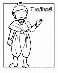 traditional clothing coloring pages education