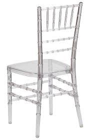 Chivari Chair Crystal Clear Ice Resin Chiavari Chair Free Cushion