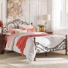 queen size metal beds for less overstock com