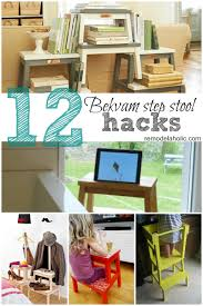 Ikea Spice Rack Hack Diy by Remodelaholic 12 Ikea Bekvam Step Stool Hacks