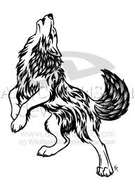 wolf howling moon drawing at getdrawings com free for personal